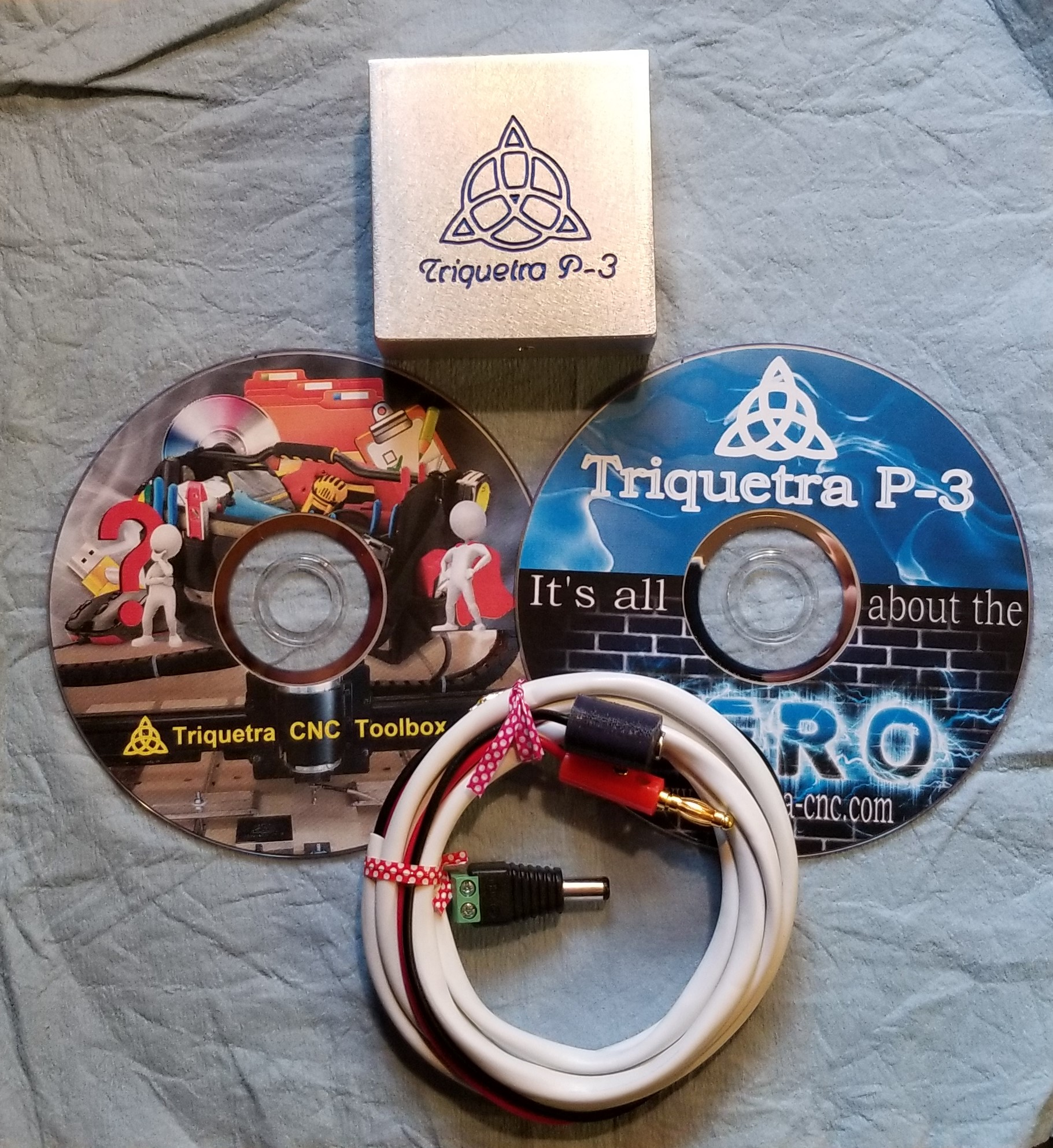 Triquetra P3 Auto Zero Touch Plate With Triquetra Tool Box